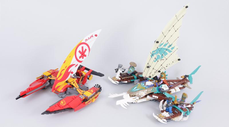 LEGO NINJAGO 71748 Catamaran Sea Battle Review Title