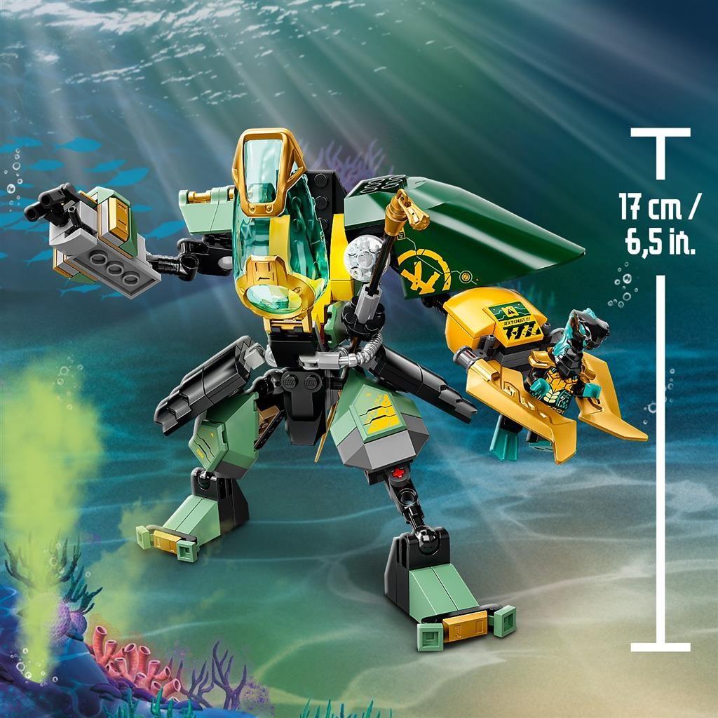 LEGO NINJAGO 71750 LLOYDS HYDRO MECH 3