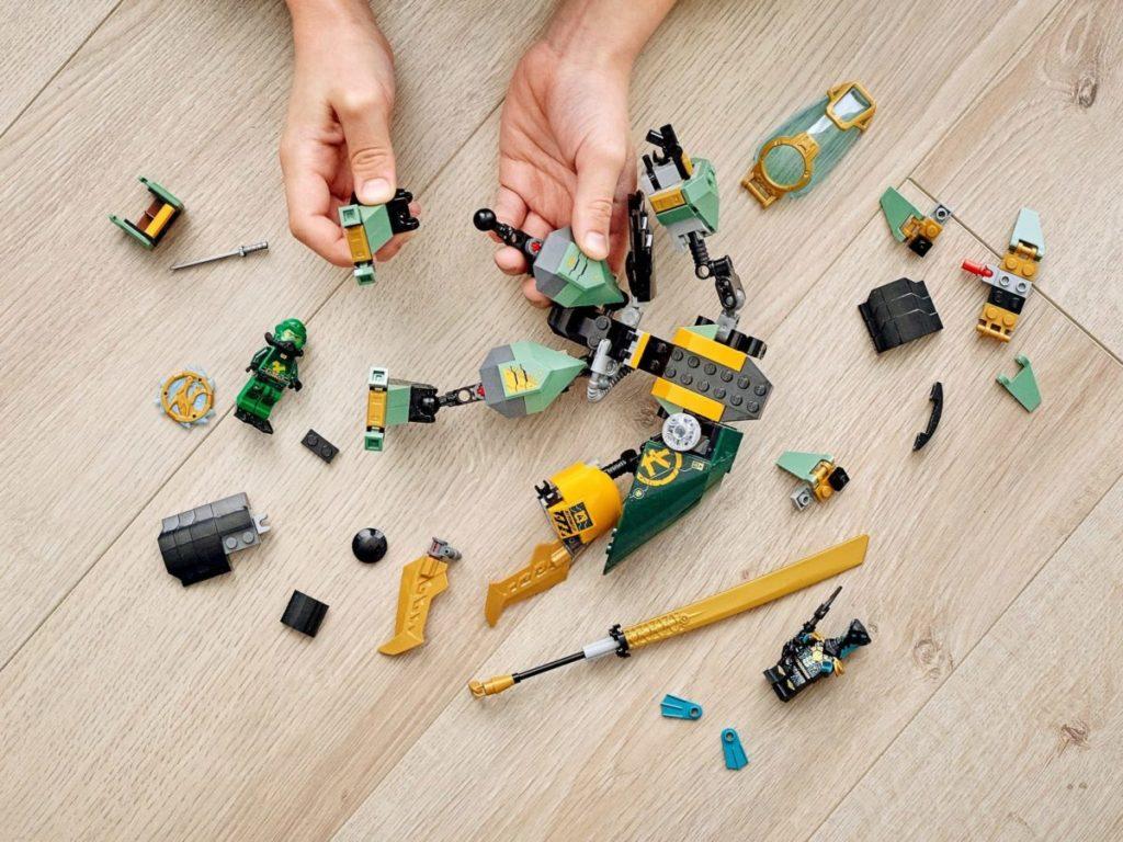 LEGO NINJAGO 71750 Lloyds Hydro Mech 3 1