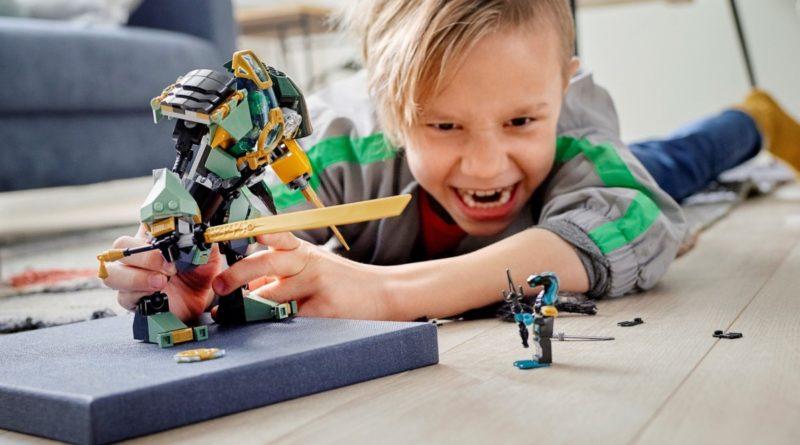 LEGO NINJAGO 71750 Lloyds Hydro Mech featured