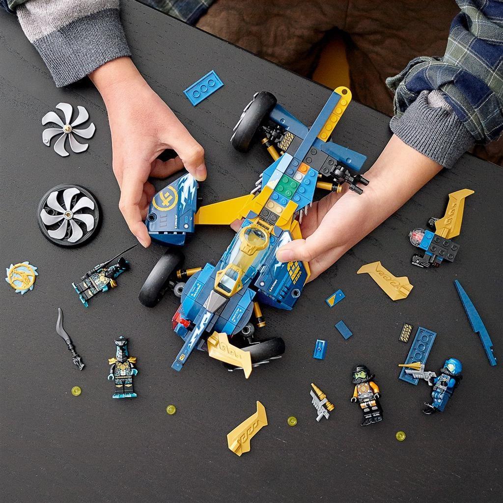 LEGO NINJAGO 71752 NINJA SUB SPEEDER 3