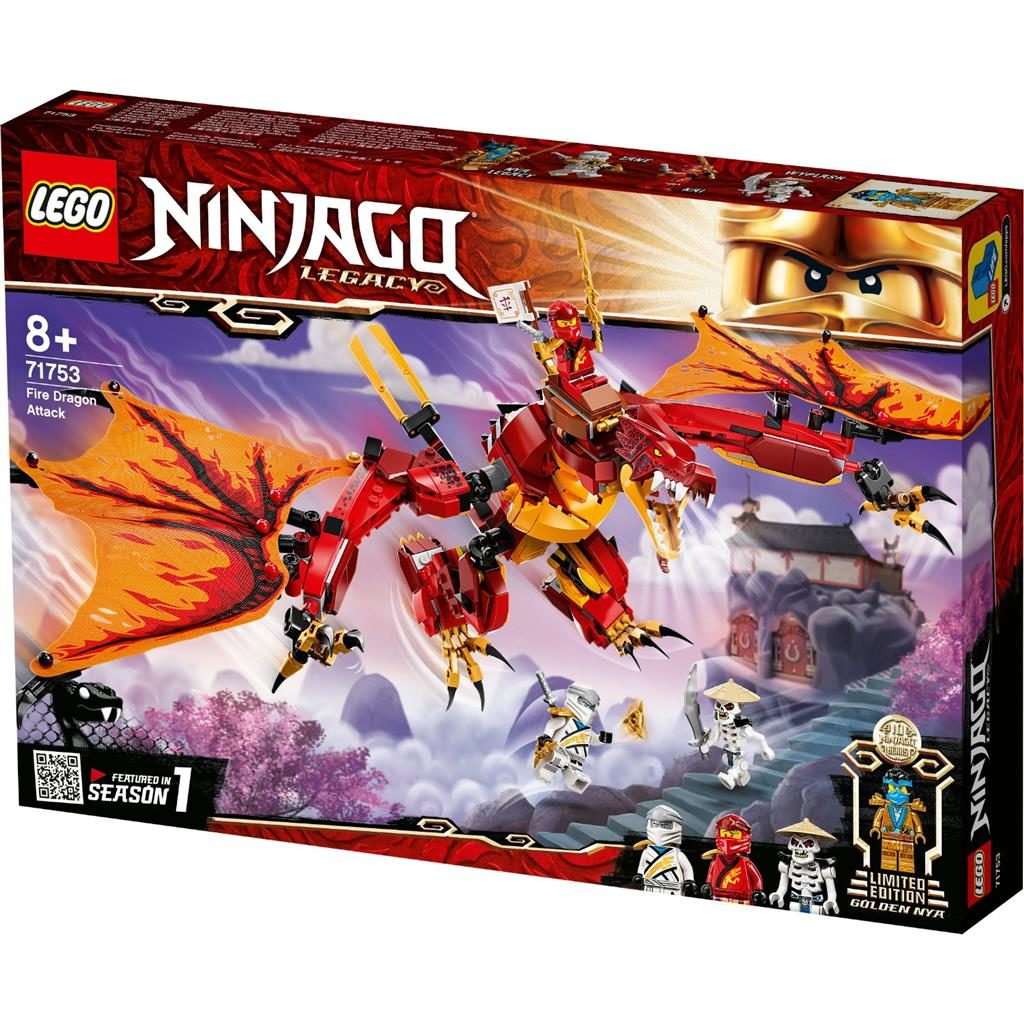 LEGO NINJAGO 71753 KAIS FIRE DRAGON 1