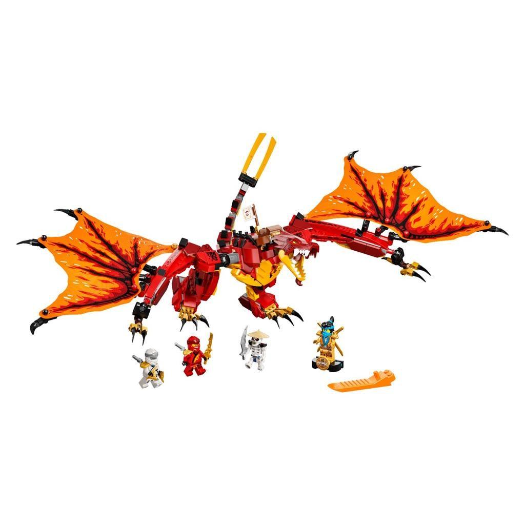 LEGO NINJAGO 71753 KAIS FIRE DRAGON 2