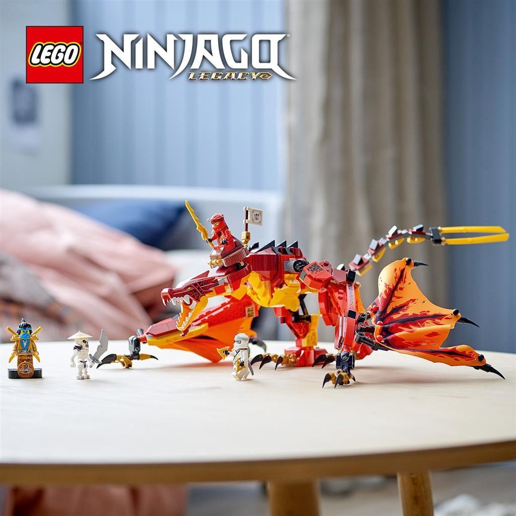 LEGO NINJAGO 71753 KAIS FIRE DRAGON 3