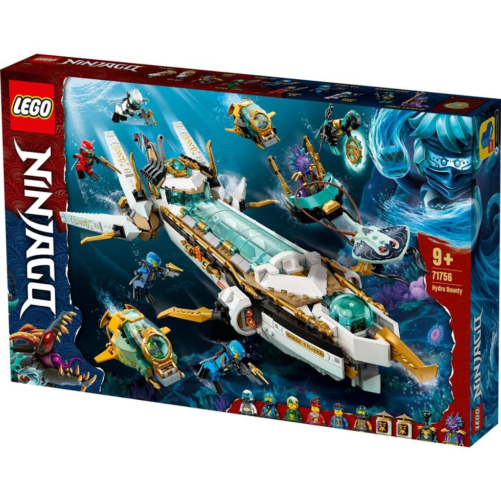 LEGO NINJAGO 71756 HYDRO BOUNTY 1