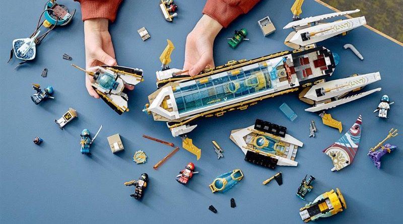 LEGO NINJAGO 71756 HYDRO BOUNTY featured