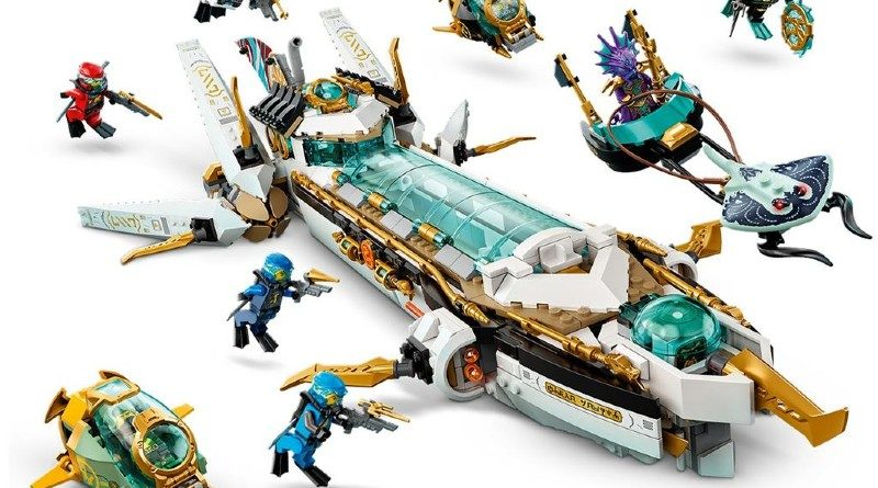 LEGO NINJAGO 71756 Hydro Bounty Featured 1 800x445
