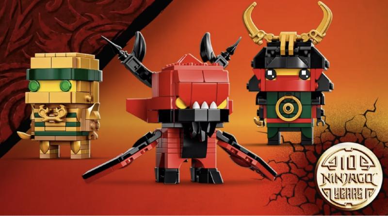 LEGO NINJAGO BrickHeadz 40490 NINJAGO 10