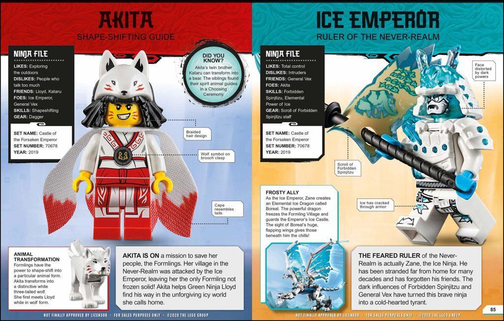 LEGO NINJAGO Character Encylopedia 2021 2