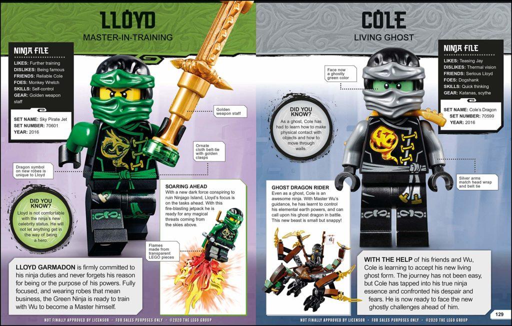 LEGO NINJAGO Character Encylopedia 2021 3