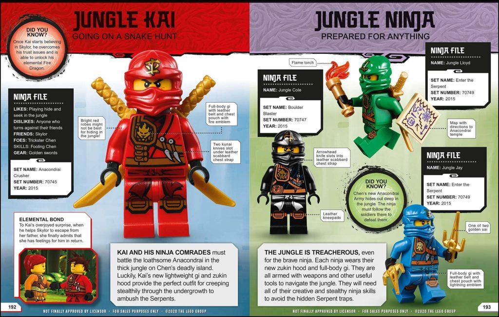 LEGO NINJAGO Character Encylopedia 2021 4