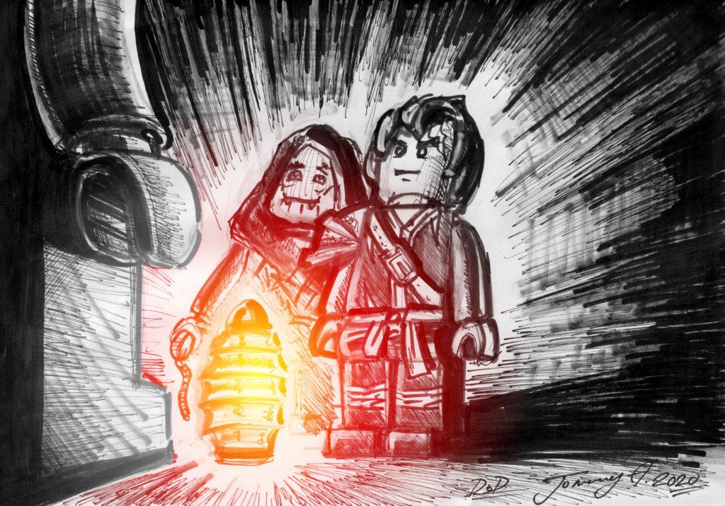 LEGO NINJAGO Cole Sketch