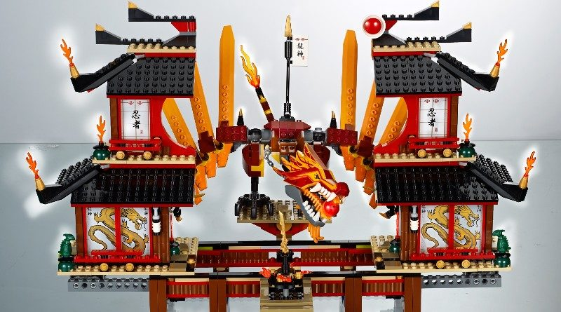 LEGO NINJAGO Fire Temple 2011 Featured 800x445