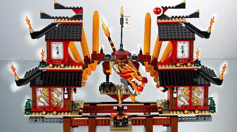LEGO NINJAGO Fire Temple 2011 Featured