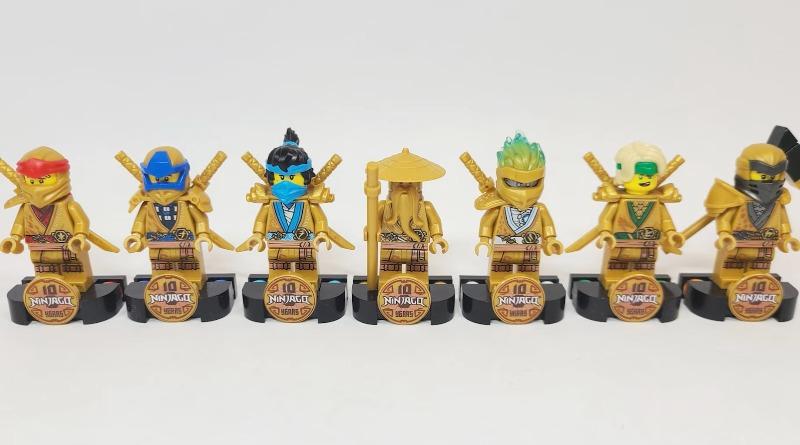 LEGO NINJAGO Golden Minifigures