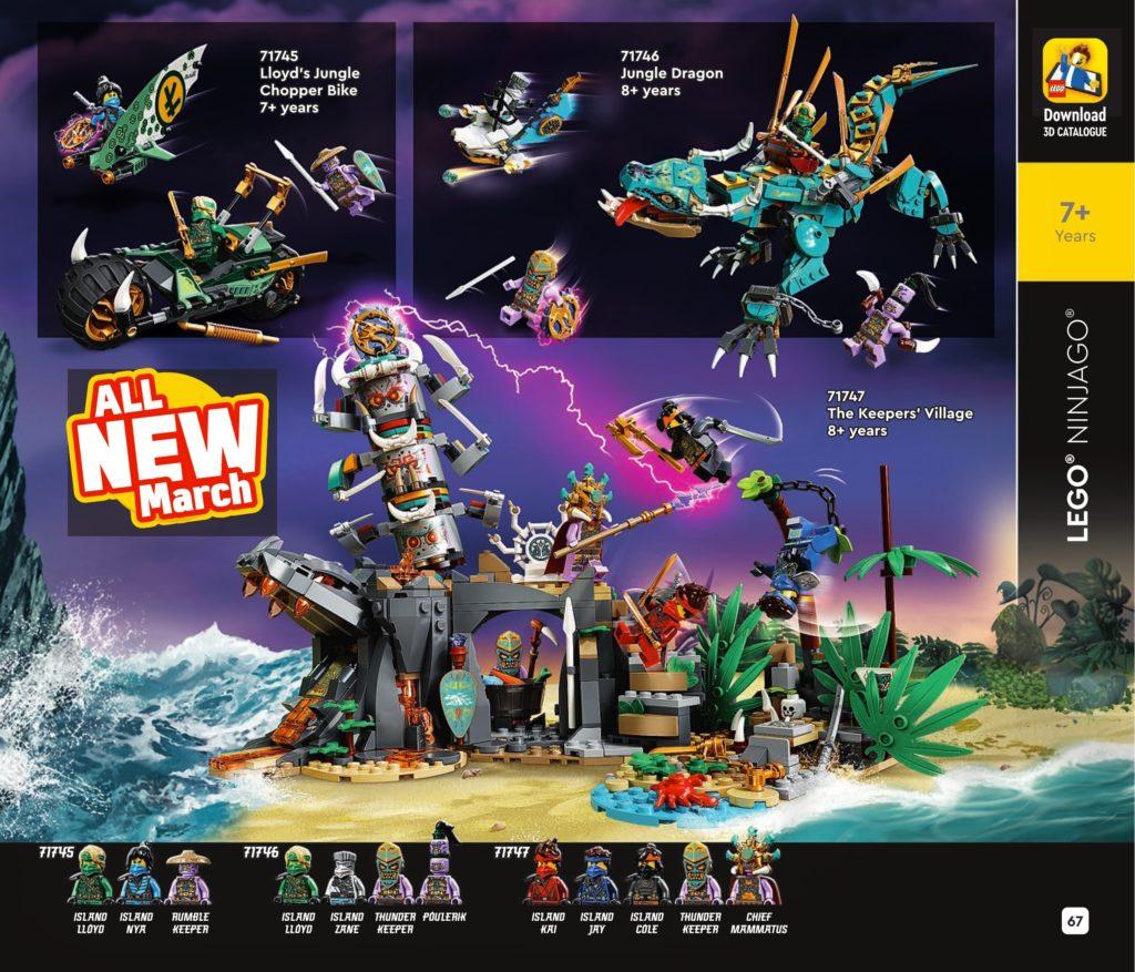 LEGO NINJAGO Island Catalogue 1