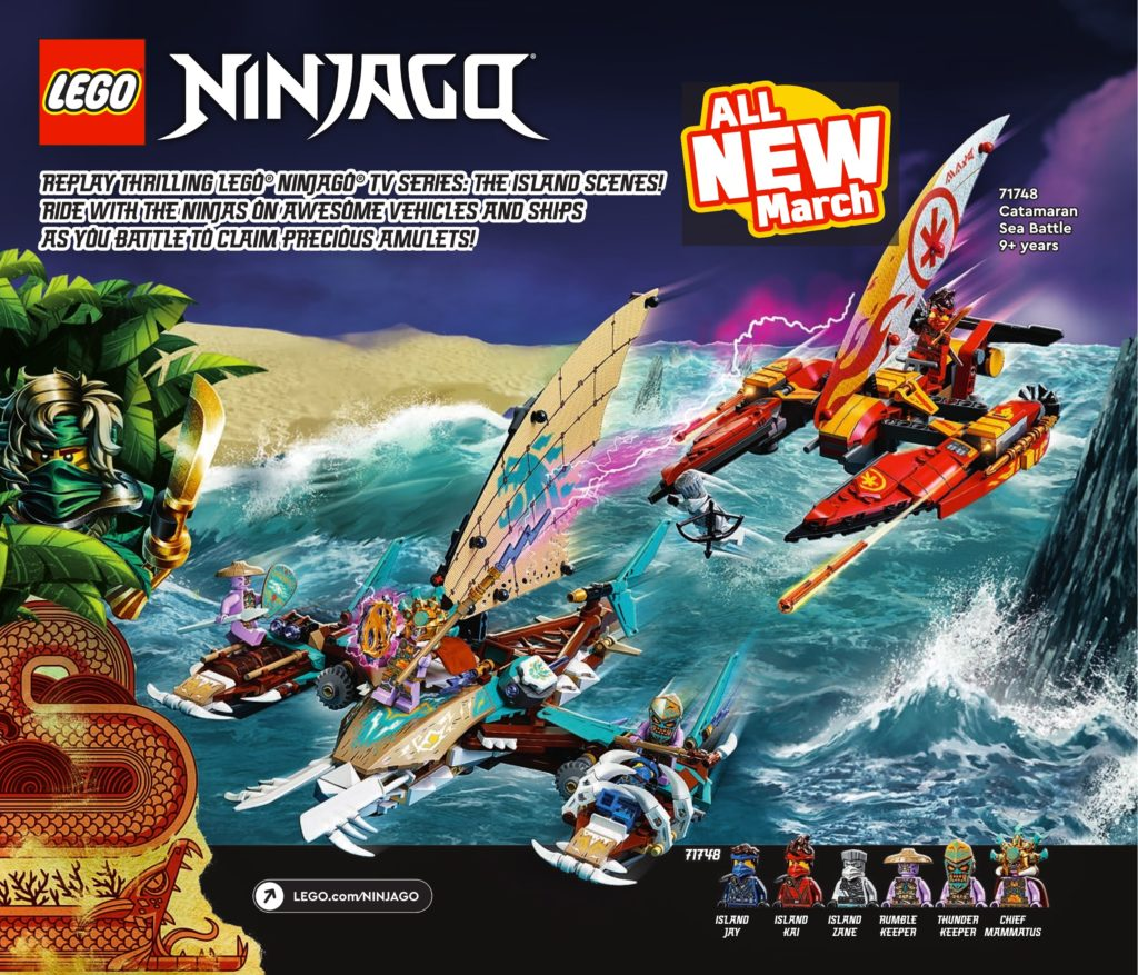LEGO NINJAGO Island Catalogue 2