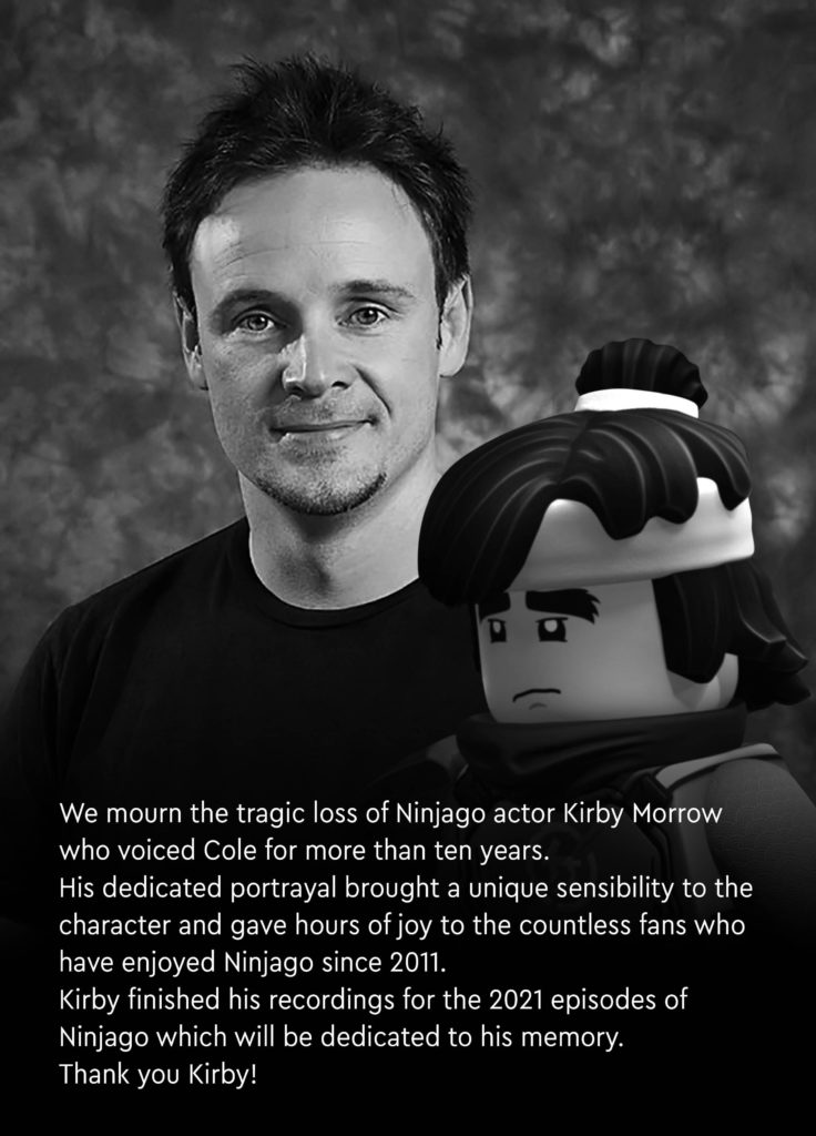 LEGO NINJAGO Kirby Morrow