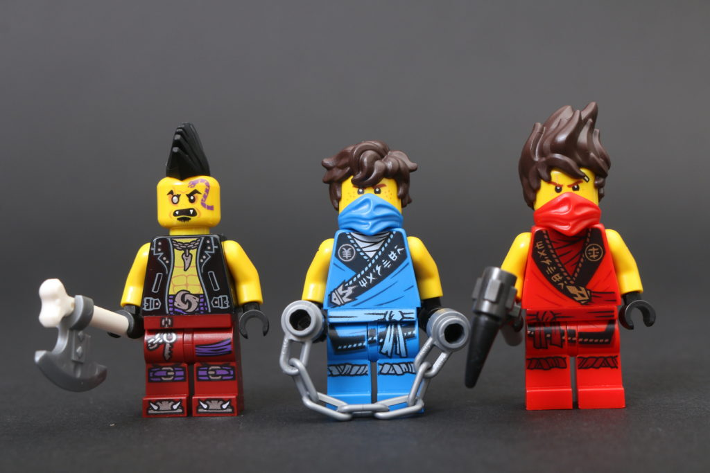 LEGO NINJAGO Legacy 71735 Tournament of Elements review