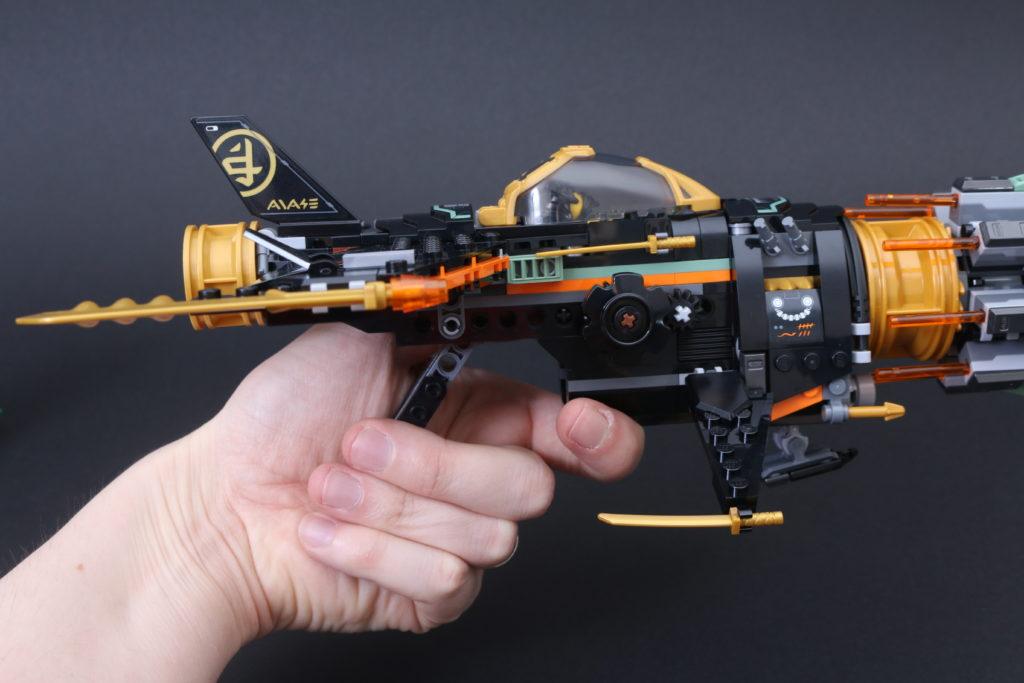 LEGO NINJAGO Legacy 71736 Boulder Blaster Review 11