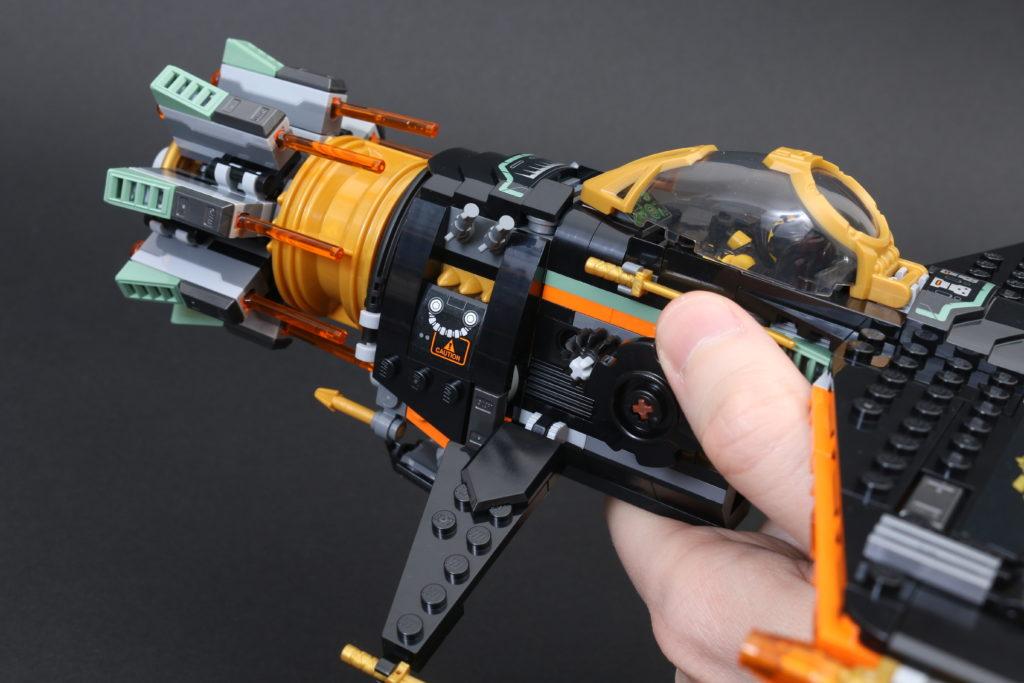 LEGO NINJAGO Legacy 71736 Boulder Blaster Review 12