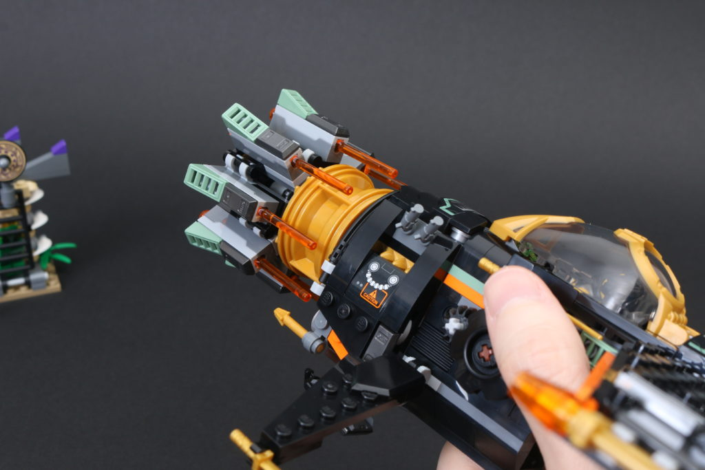 LEGO NINJAGO Legacy 71736 Boulder Blaster Review 13