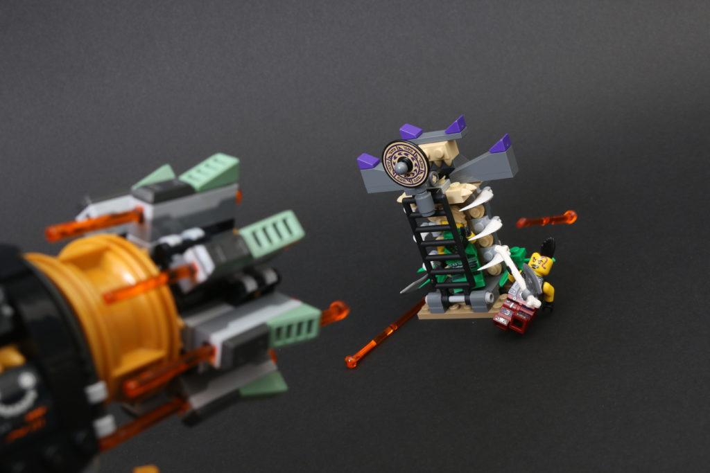 LEGO NINJAGO Legacy 71736 Boulder Blaster Review 16