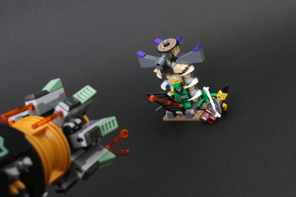 LEGO NINJAGO Legacy 71736 Boulder Blaster Review 17