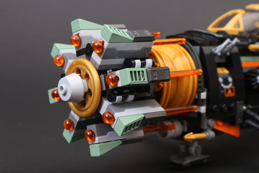 LEGO NINJAGO Legacy 71736 Boulder Blaster Review 19