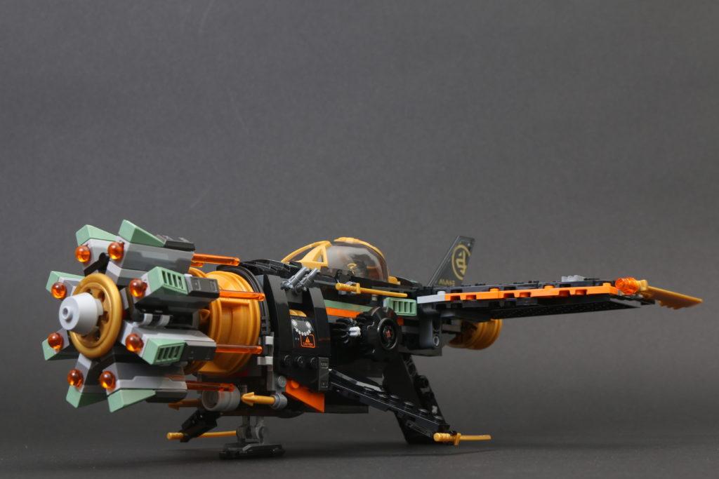 LEGO NINJAGO Legacy 71736 Boulder Blaster Review 23