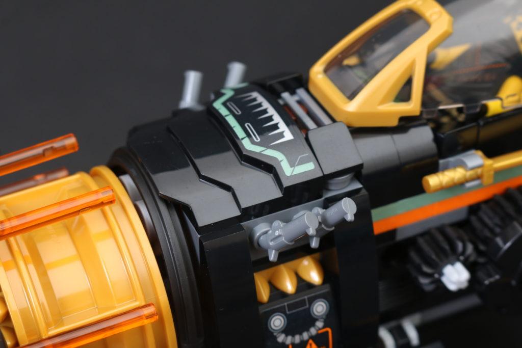 LEGO NINJAGO Legacy 71736 Boulder Blaster Review 26