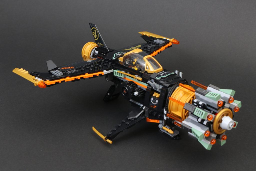 LEGO NINJAGO Legacy 71736 Boulder Blaster Review 30