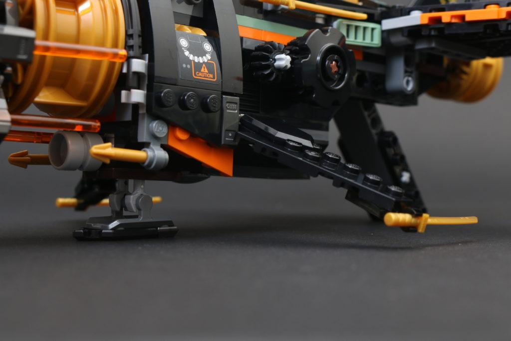 LEGO NINJAGO Legacy 71736 Boulder Blaster Review 32