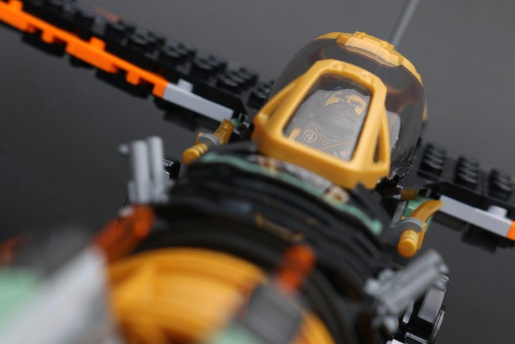 LEGO NINJAGO Legacy 71736 Boulder Blaster Review 34