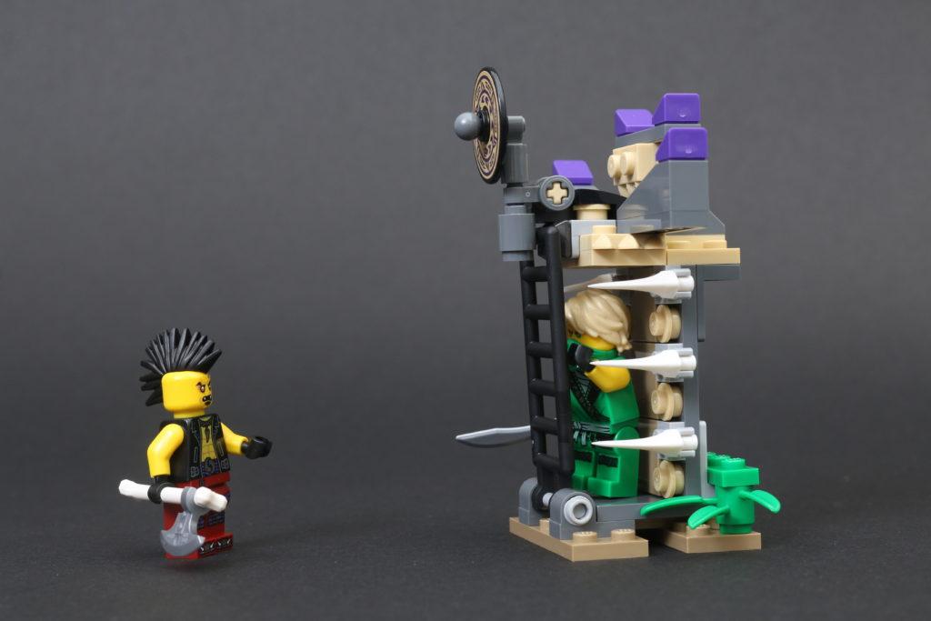 LEGO NINJAGO Legacy 71736 Boulder Blaster Review 8