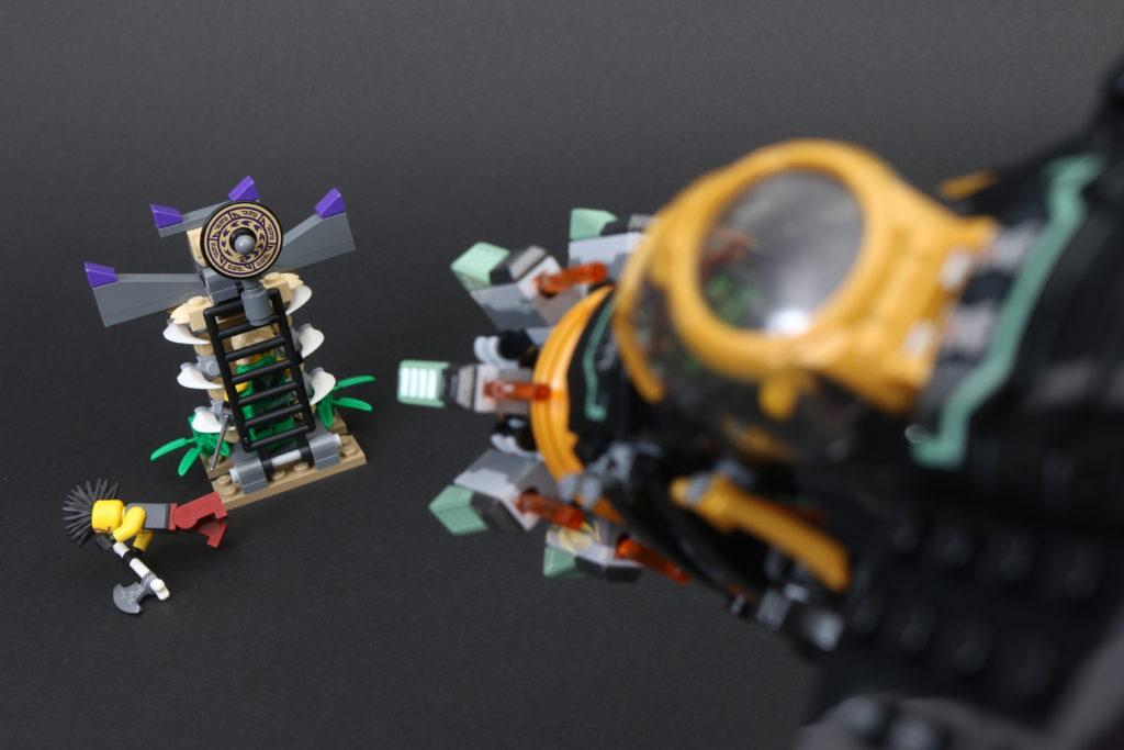 LEGO NINJAGO Legacy 71736 Boulder Blaster Review 9