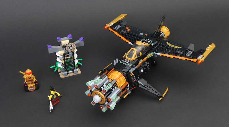 LEGO NINJAGO Legacy 71736 Boulder Blaster Review Title