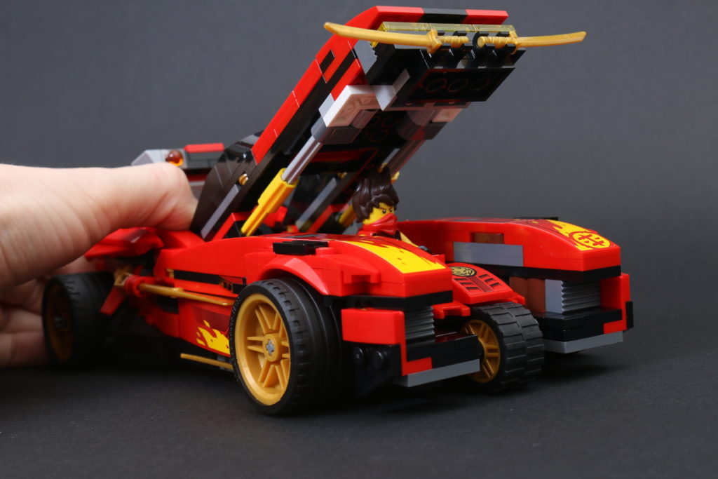 LEGO NINJAGO Legacy 71737 X-1 Ninja Charger review