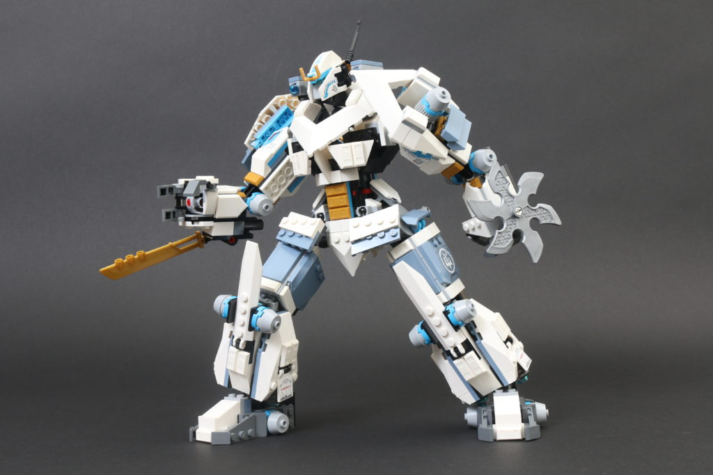 LEGO NINJAGO Legacy 71738 Zanes Titan Mech Battle Review 14