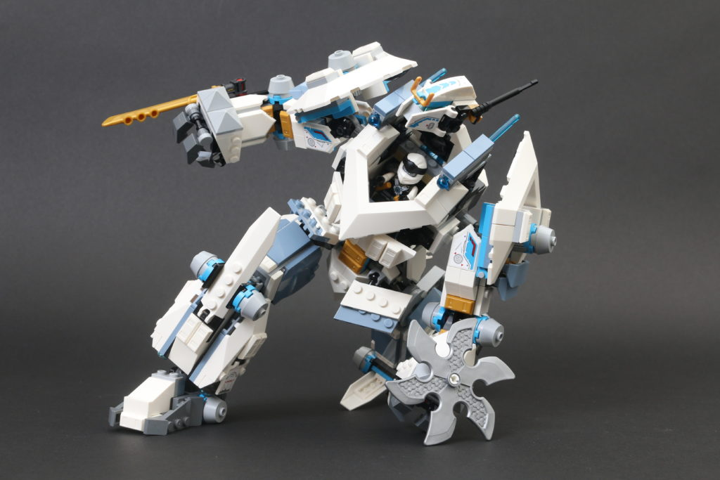 LEGO NINJAGO Legacy 71738 Zanes Titan Mech Battle Review 19