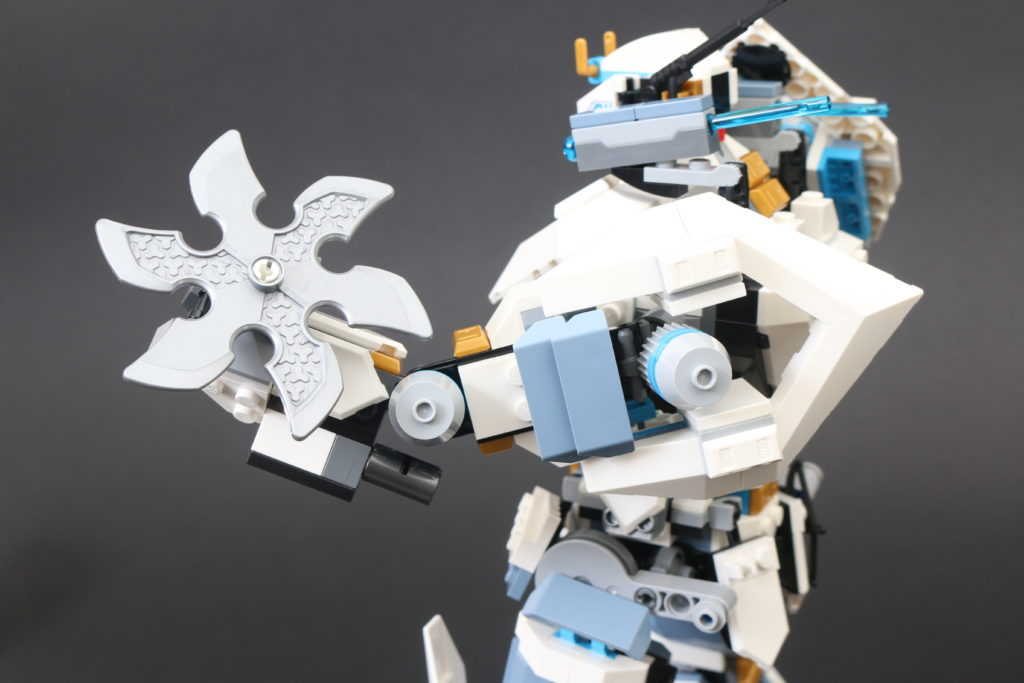 LEGO NINJAGO Legacy 71738 Zanes Titan Mech Battle Review 23