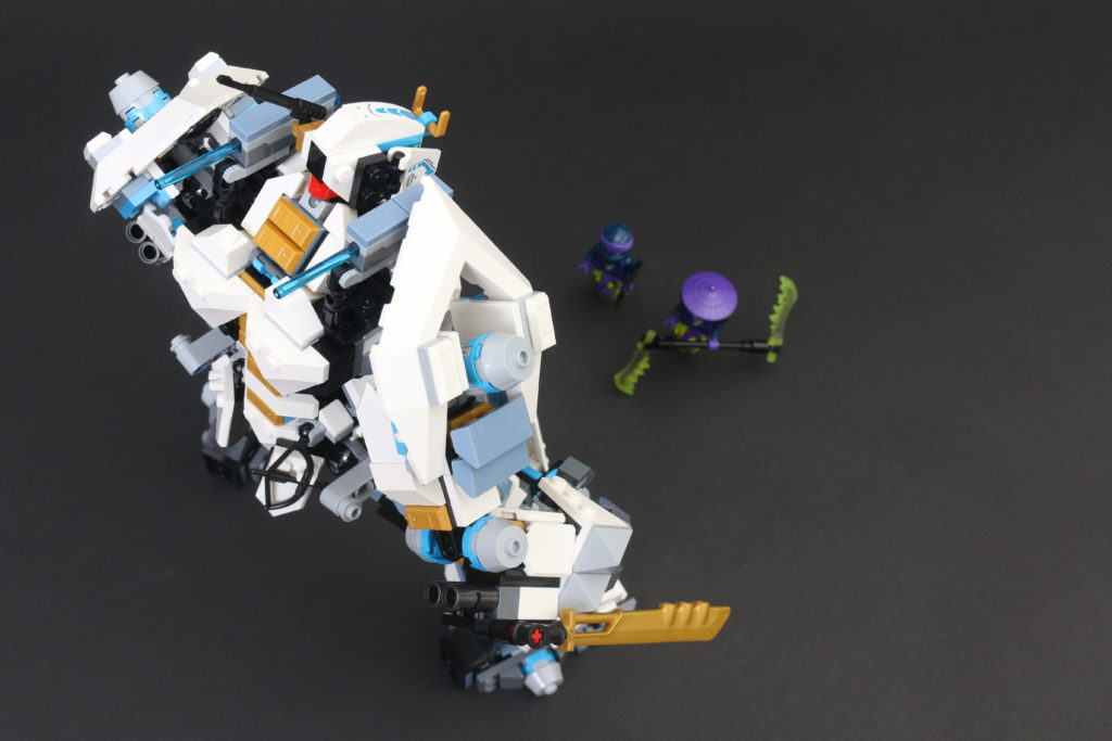 LEGO NINJAGO Legacy 71738 Zanes Titan Mech Battle Review 33