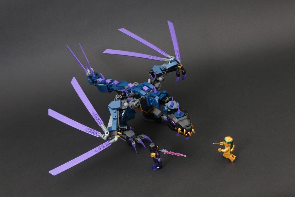 LEGO NINJAGO Legacy 71742 Overlord Dragon review