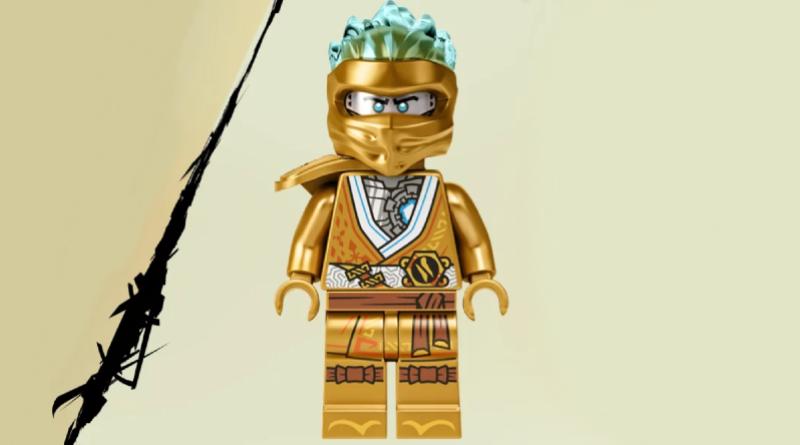 LEGO NINJAGO Legacy Golden Zane Featured