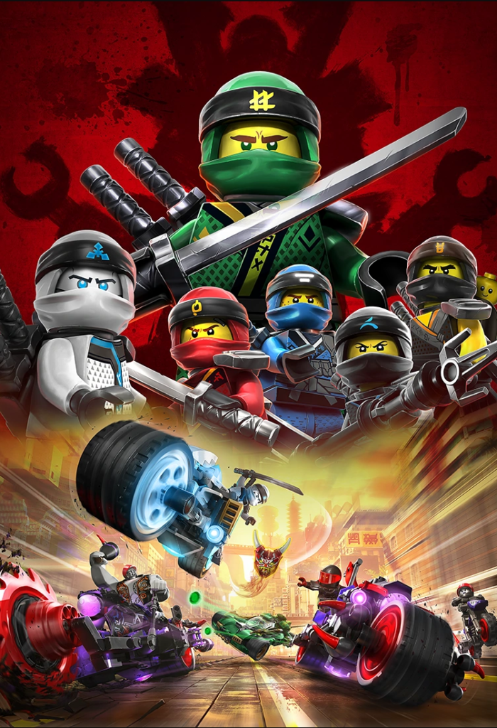 LEGO NINJAGO Sons Of Garmadon Poster