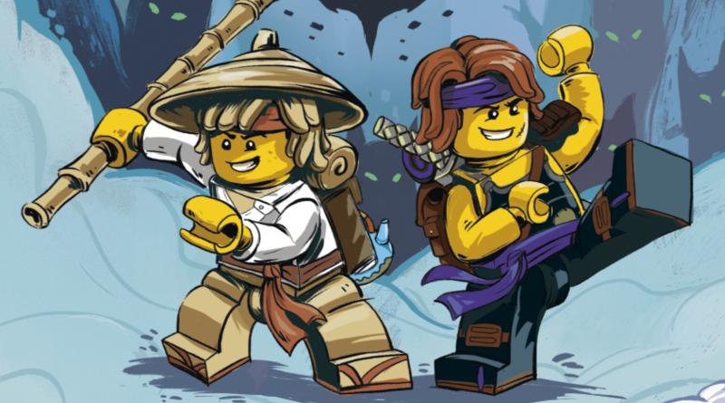 LEGO NINJAGO Spinjitzu Brothers Books Featured