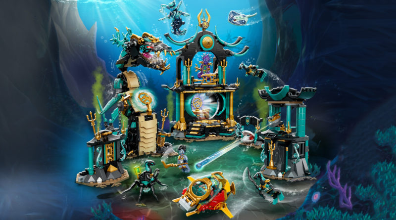 LEGO NINJAGO Temple of the Endless Sea 71755 key render featured