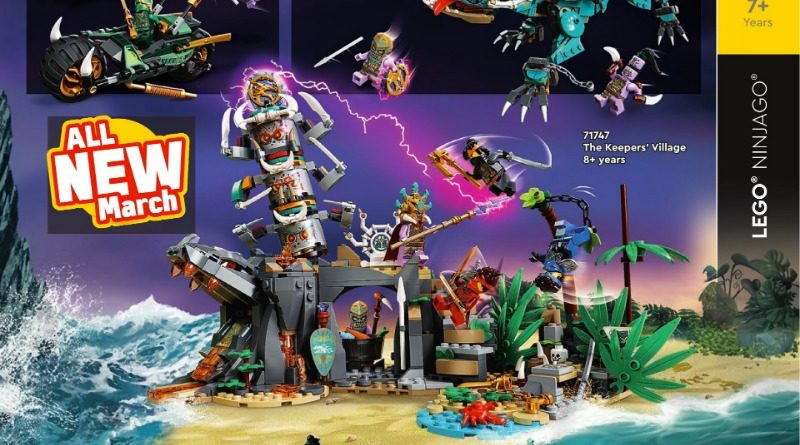 LEGO NINJAGO The Keepers Village Catalogue Featured 800x445