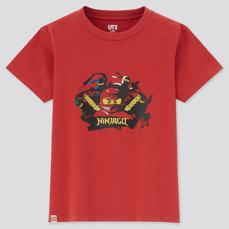 LEGO NINJAGO Uniqlo shirt 3
