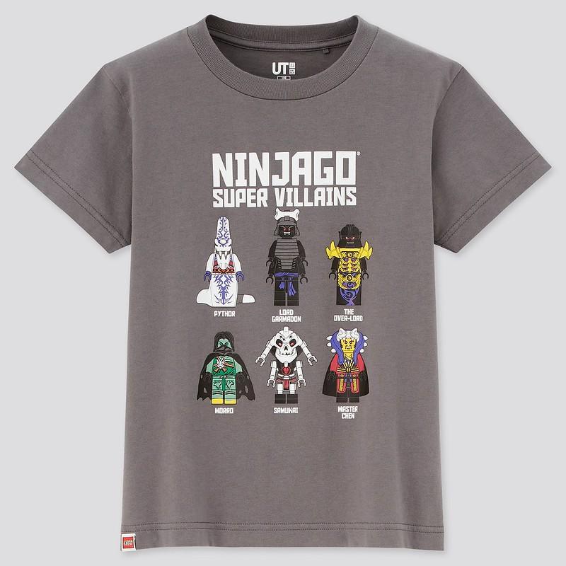 LEGO NINJAGO Uniqlo shirt 5